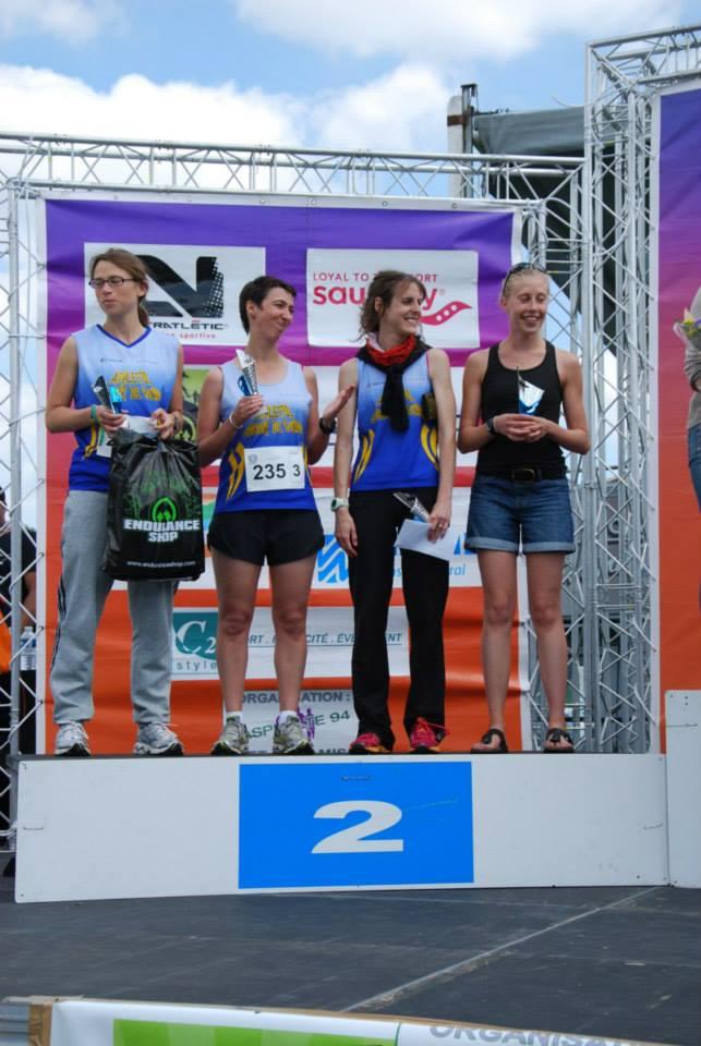 Résultats du marathon relais