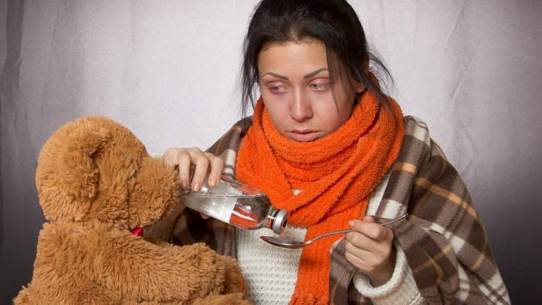 Peut-on s'entrainer avec un rhume ou la grippe?