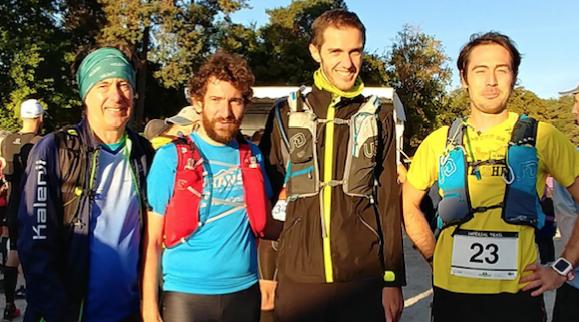 L'Impérial'Trail d'Eric, Frédéric, Sylvain et Jean-Michel